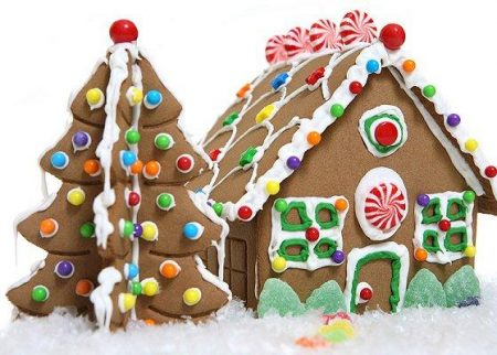 Christmas Gingerbread House.Gingerbread House Workshop Choose Date Time