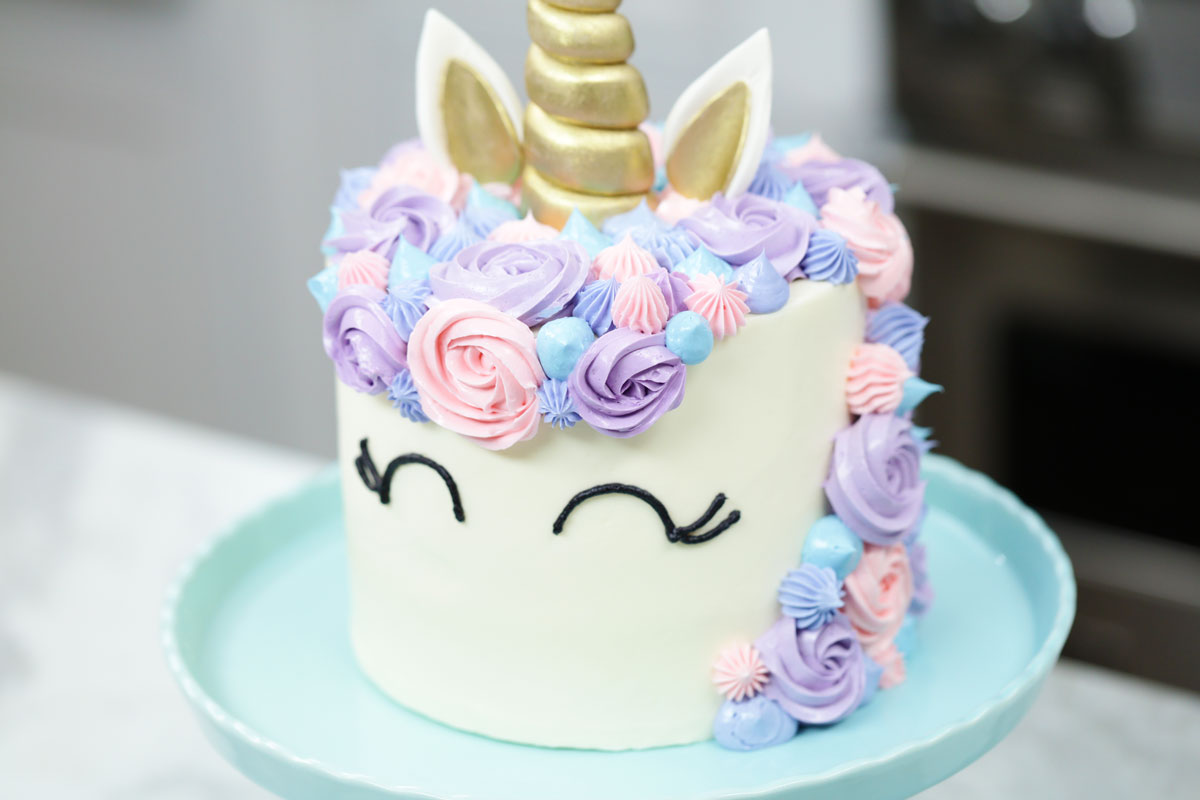 ABC Chefs unicorn cake