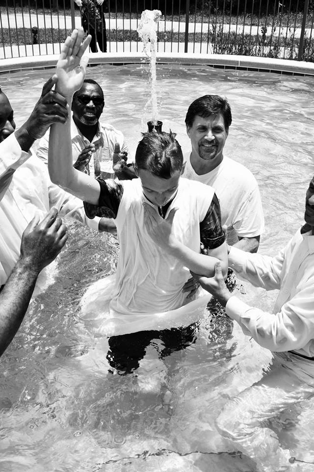 """VBS """"Submerged"""" and Father's Day Baptism 2016"""
