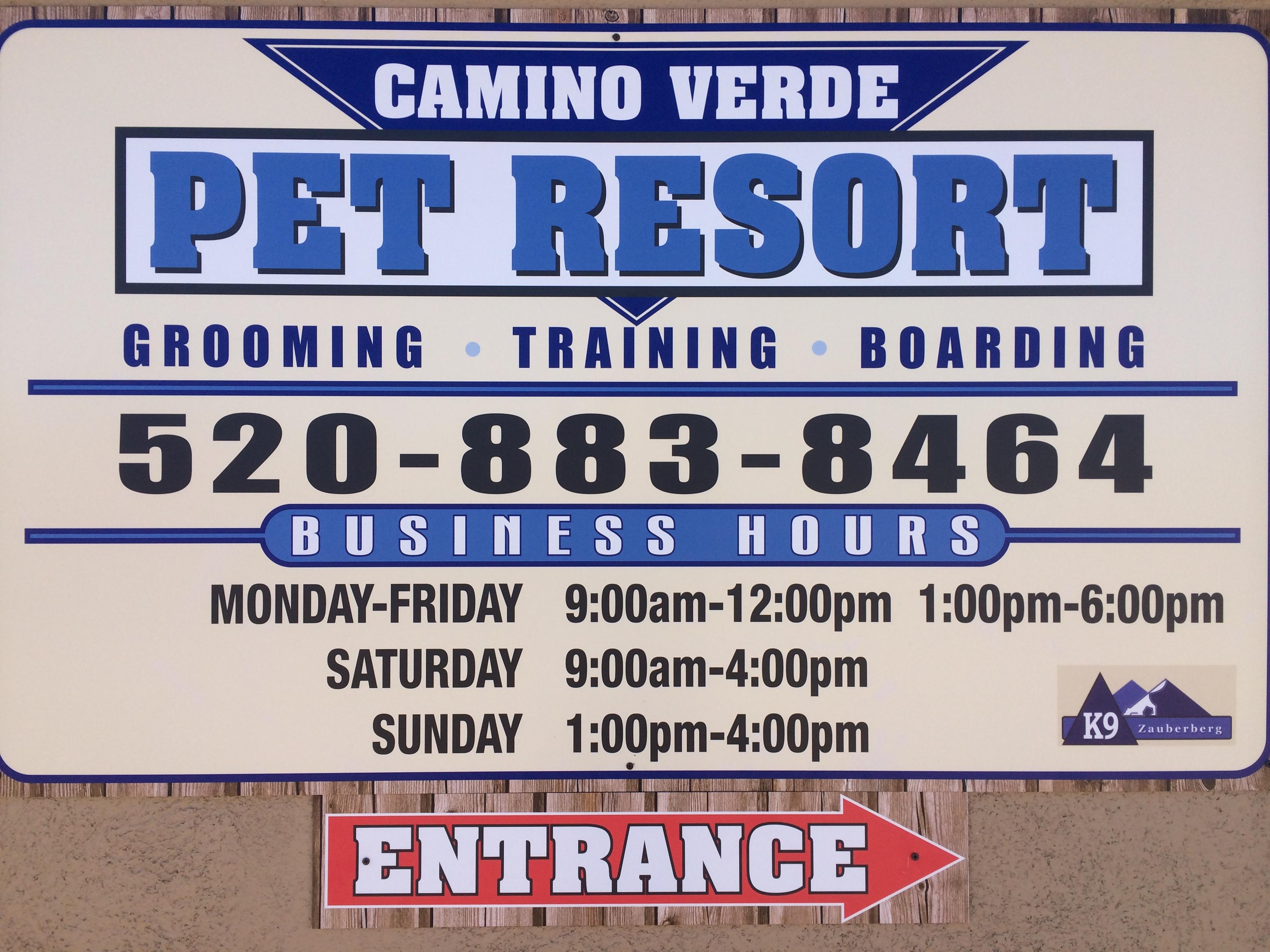 Camino Verde Pet Resort