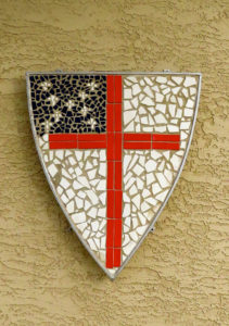 Mosaic Episcopal Shield