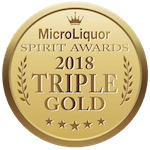 Micro Liquor Spirits Awards 2018 — Triple Gold