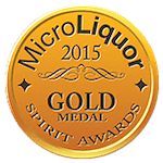 Micro Liquor Spirits Awards 2015 — Gold