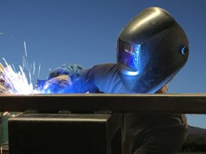Larsen Mfg welding