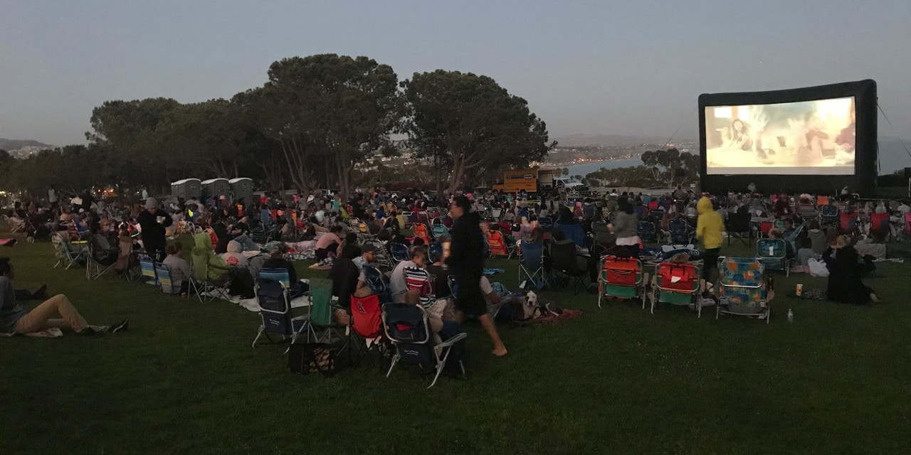 Dana Point Outdoor Screening