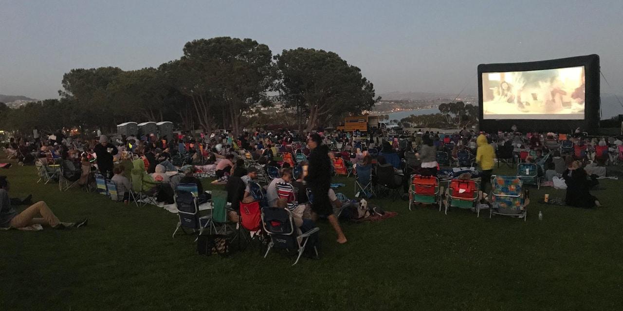 Dana Point Outdoor Screening