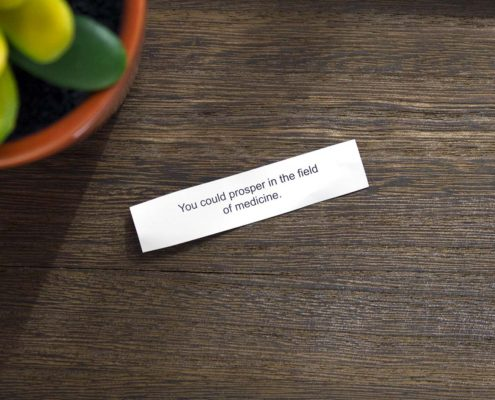 photo of fortune cookie fortune
