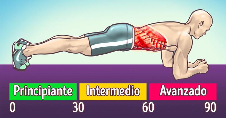10 Ejercicios para quemar grasa abdominal sin tener que salir a trotar