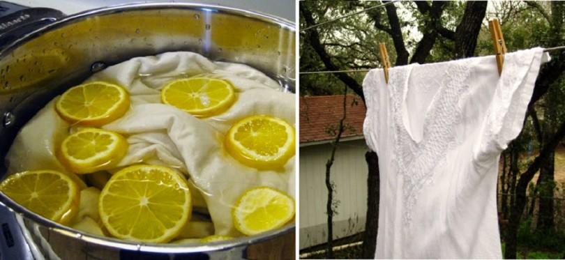 Cómo blanquear ropa sin cloro