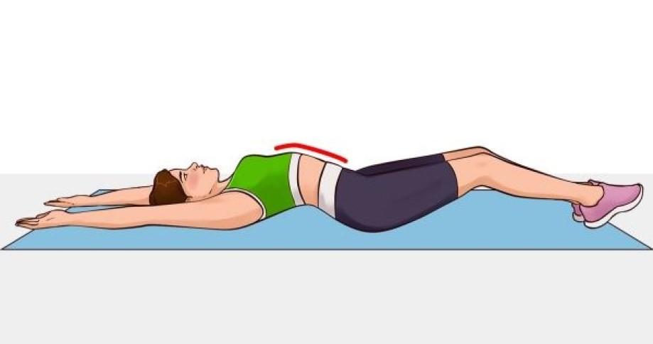 """El ejercicio """"V"""" que te ayudará a definir tus abdominales en unos 2-3 meses"""