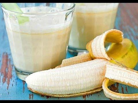 Batido de plátano y limón para el cansancio crónico, anemia y cálculo renales