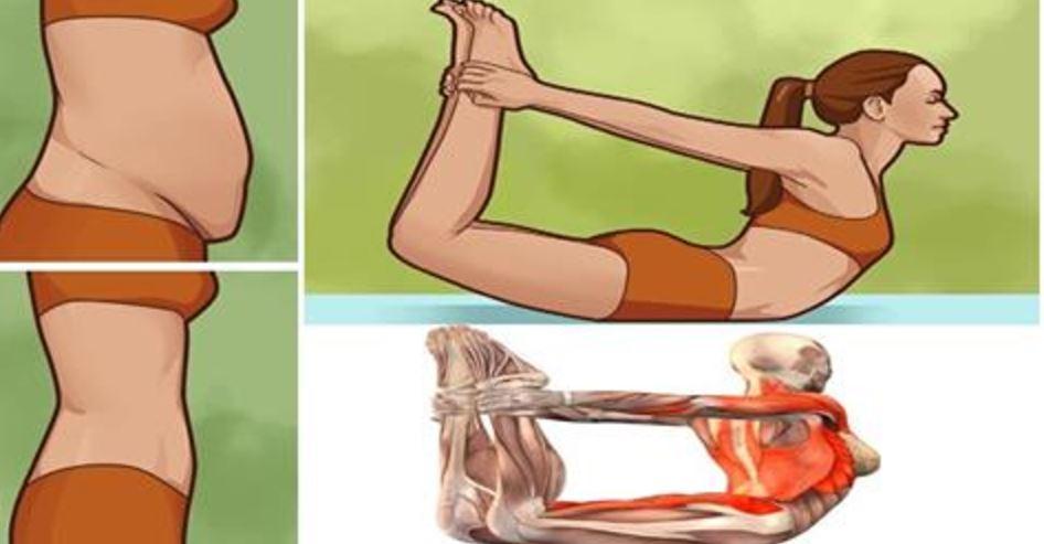 4 poses de yoga para reducir la grasa del vientre