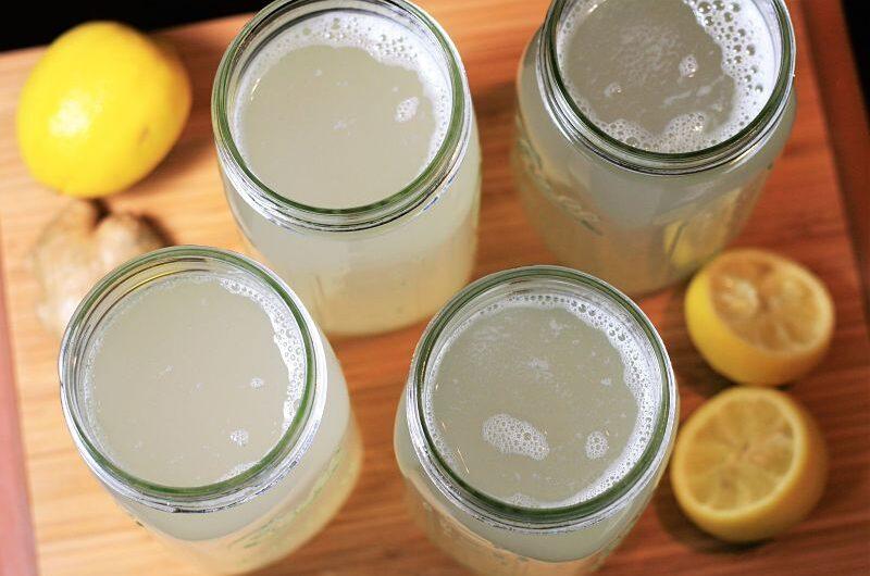 Bebida purificadora para desinflamar el vientre y bajar de peso