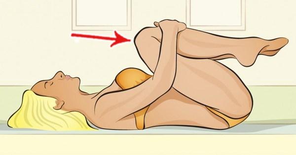 Realiza estos movimientos antes de irte a dormir te relajarás en instantes