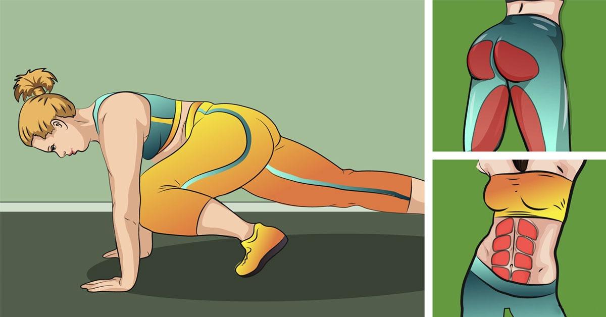 3 ejercicios para fortalecer los glúteos