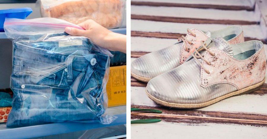 21 Truquitos que salvarán tu ropa y zapatos