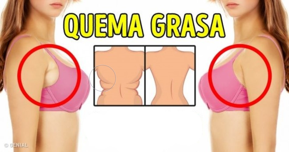 10 Maneras de matar la grasa de la espalda
