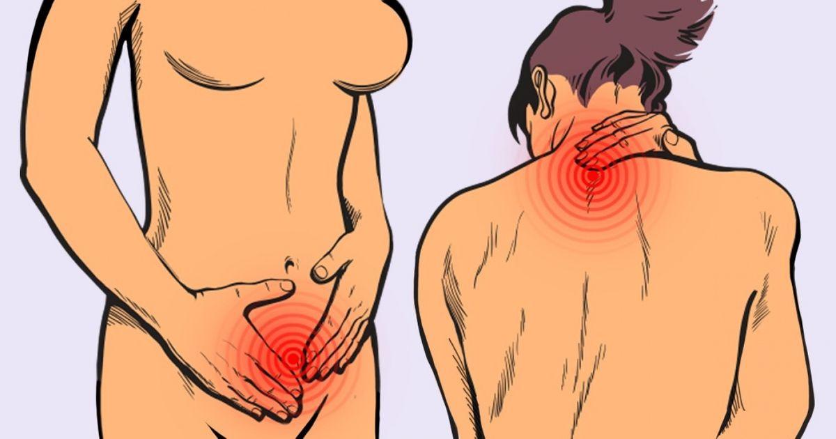 Si te molesta el dolor en todo el cuerpo, estos 12 síntomas deberían preocuparte