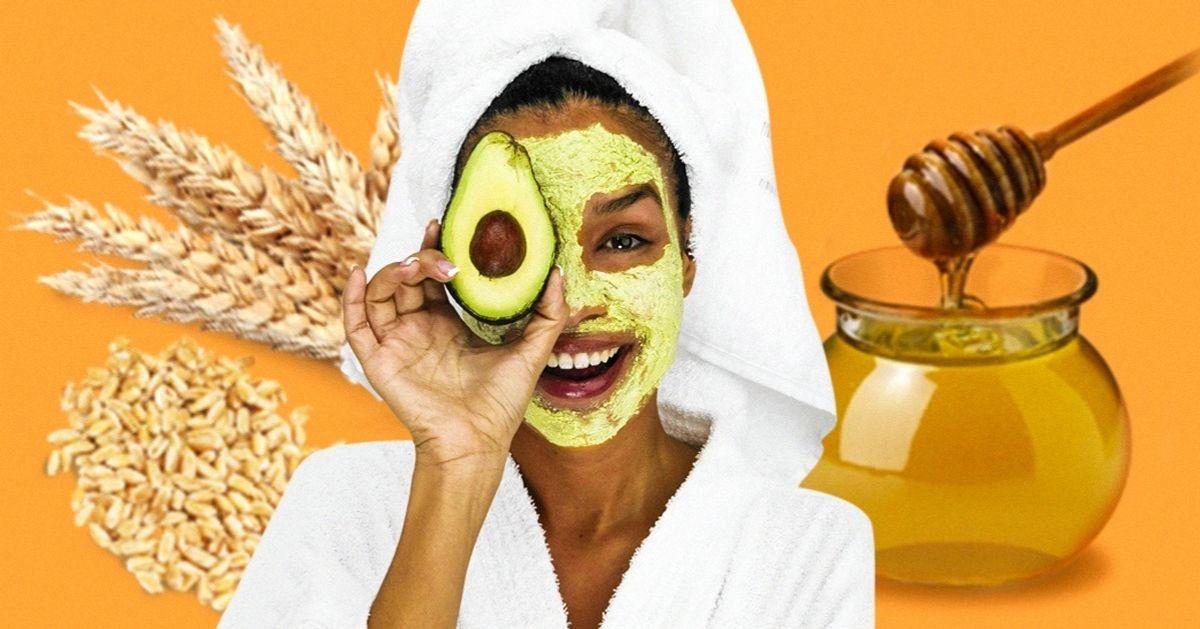9 Alimentos que puedes usar como productos de belleza