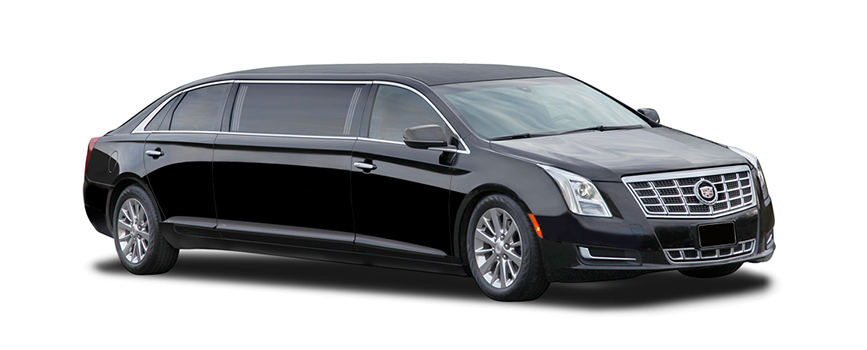 A vehicle used for our limo service in Galveston, TX