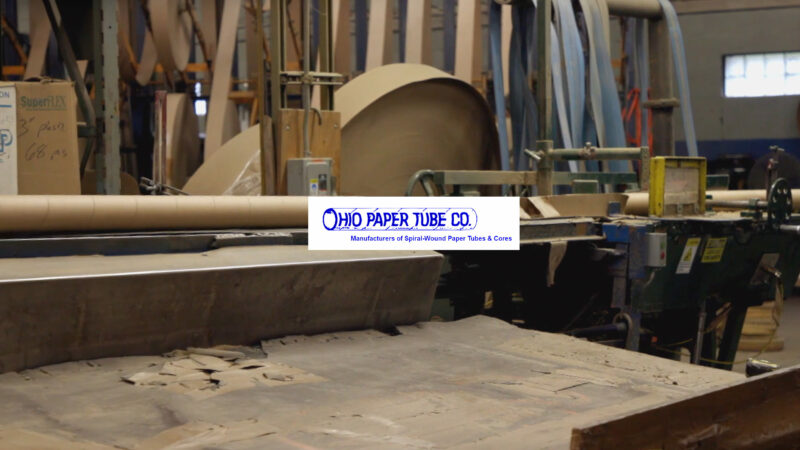 World's Greatest Television Show Ohio Paper Tube Company