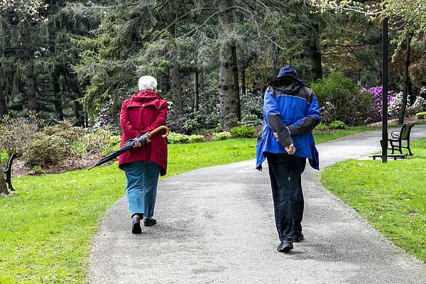 Jan Werner seniors walking