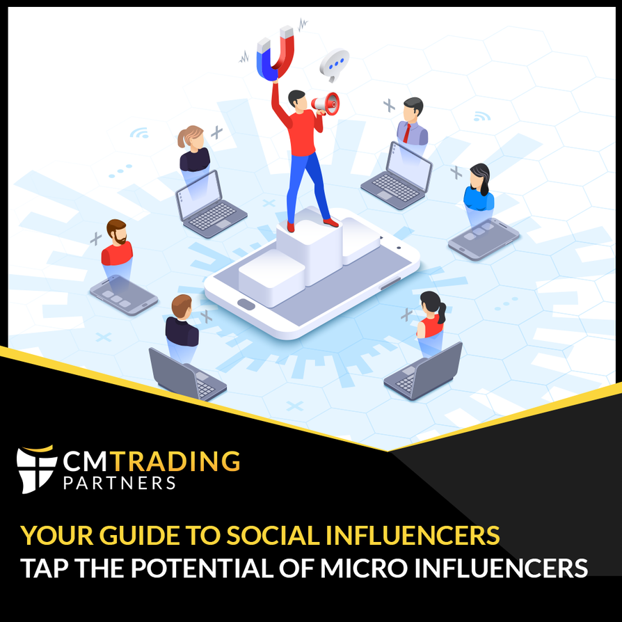 micro influencers become a partner with cmtrading partners