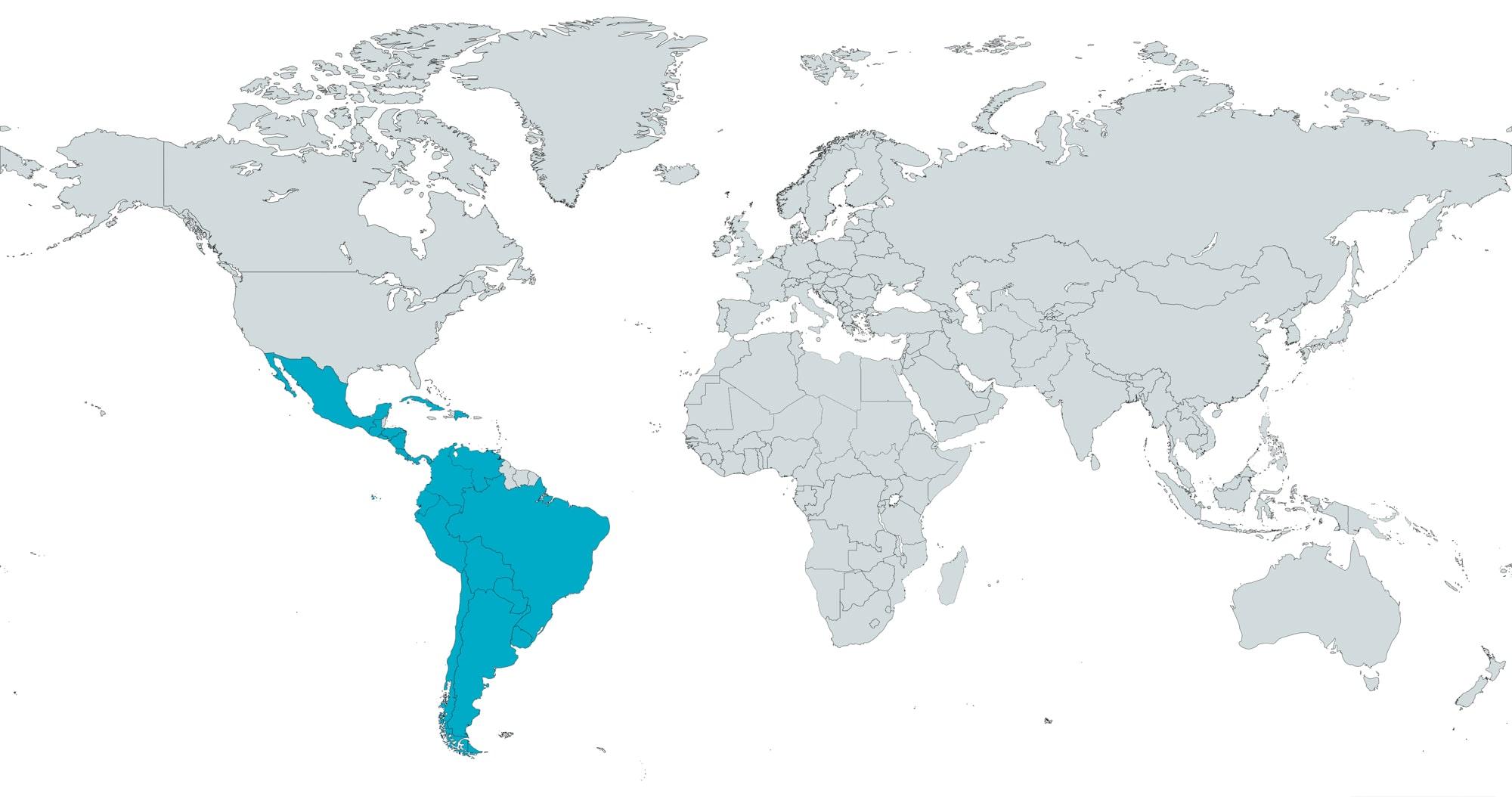 Map-Latin-America