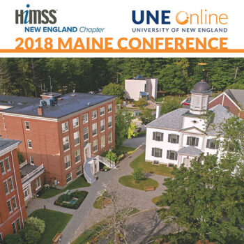 UNE Online Hosting the New England HIMSS 2018 Maine Conference