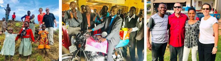 Brad and Shawna Visit Daniel in Uganda