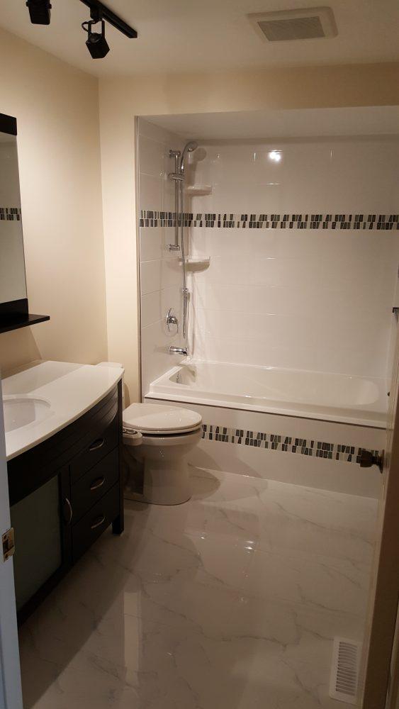 durham region bathroom renovation