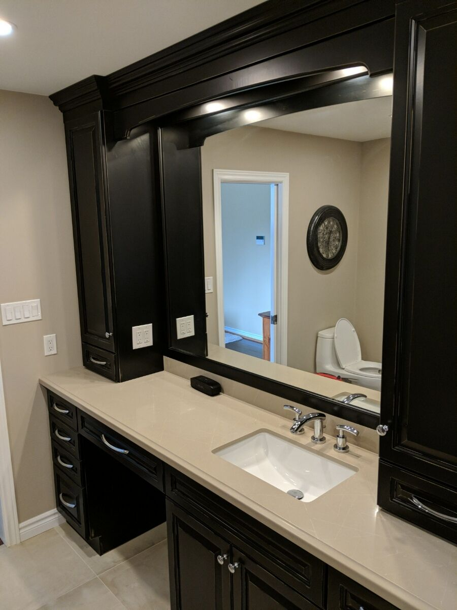 Bathroom Renovation durham region clayson construction services