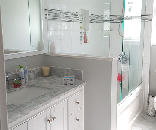 Counter Top and Shower Renovation