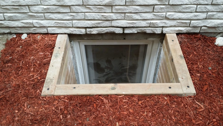 egress window installation clayson construction durham