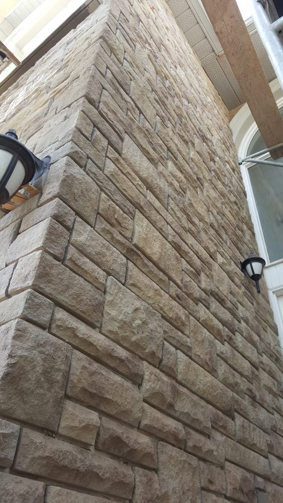masonry veneer stone renovations clayson construction services durham