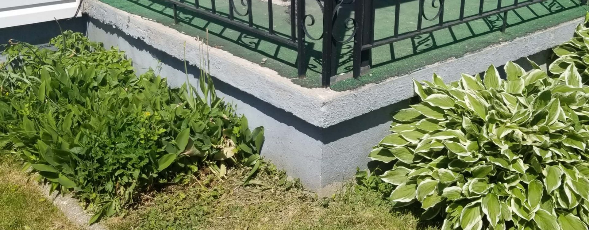 durham masonry restoration before picture
