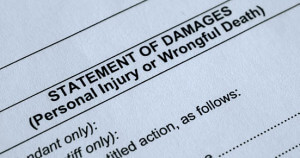 statement of damages