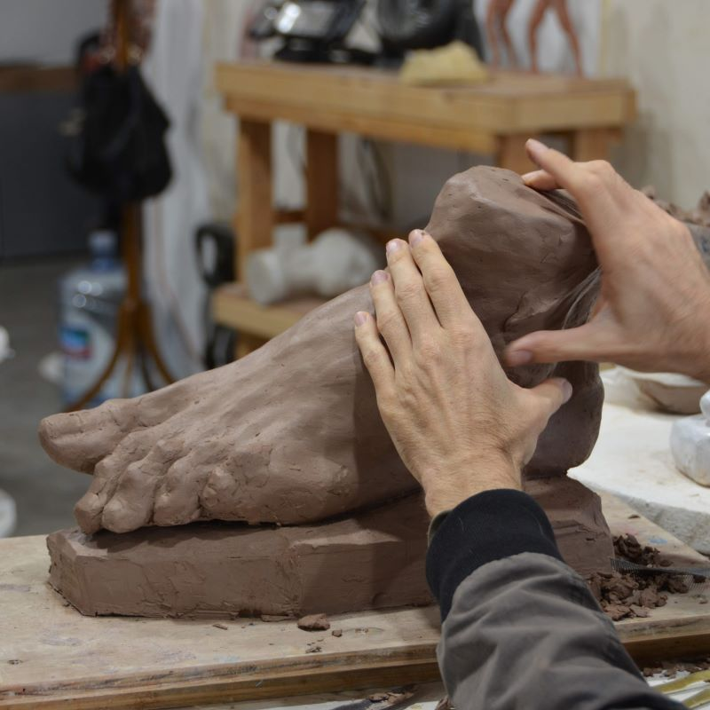 Clay & Mixed Media Sculpture Class