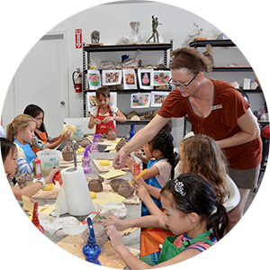 Private events and parties for kids and adults at Teale Sculpture Studio