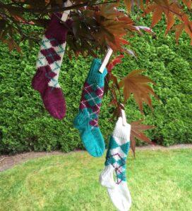 Argyle socks1