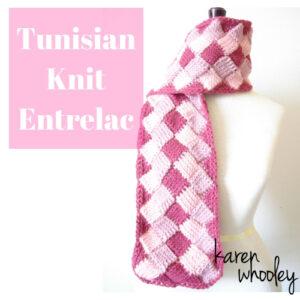 KWhooley - Tunisian Knit Entrelac