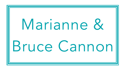 Marianne & Bruce Cannon