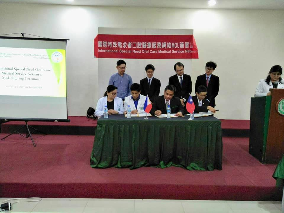 International Special Need Oral Care Medical Service Network MoU Signing Ceremony