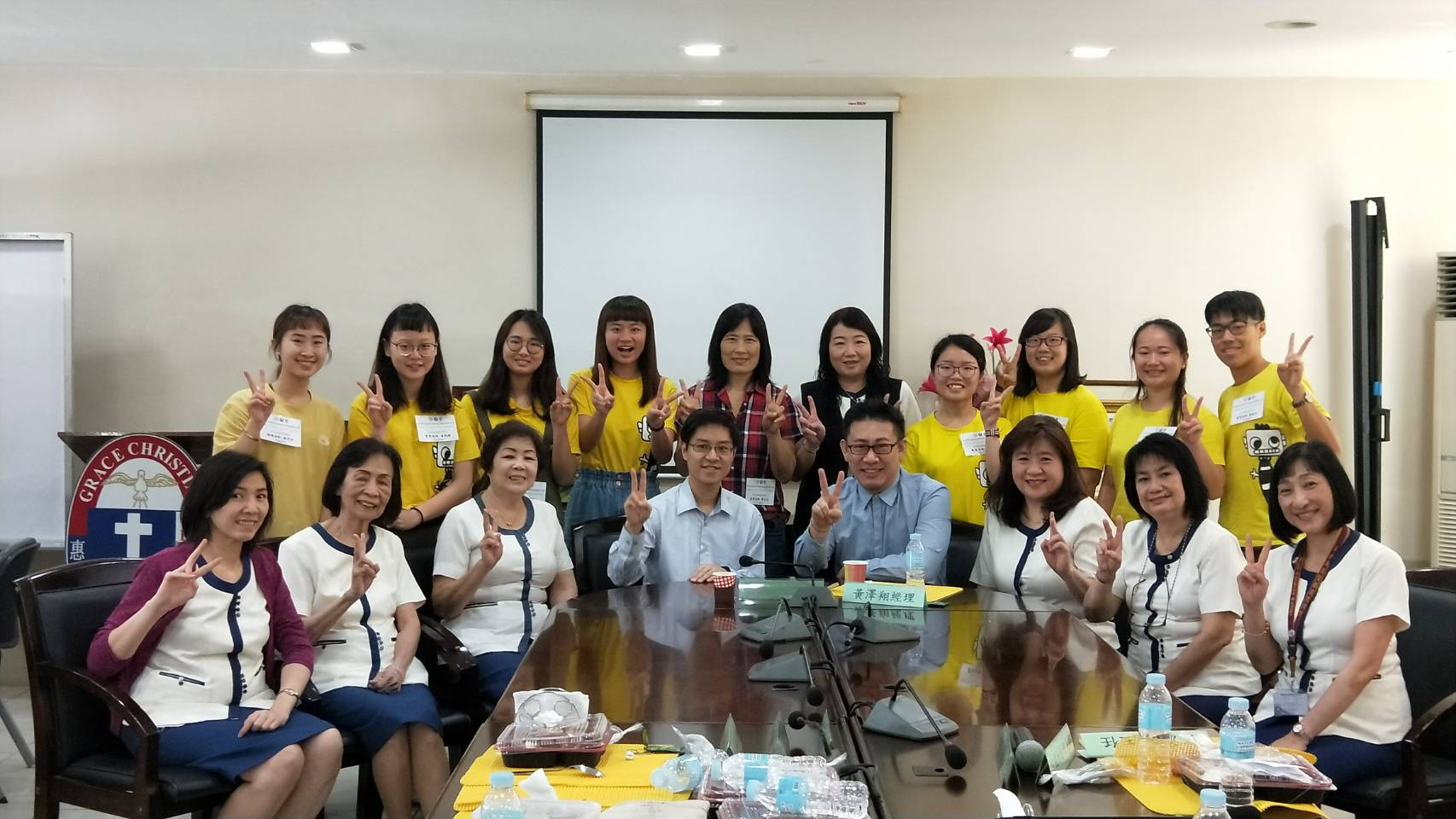 WELCOME TAIWAN ASIA UNIVERSITY PROFESSOR AND STUDENTS ARE INTERNSHIP IN MANILA