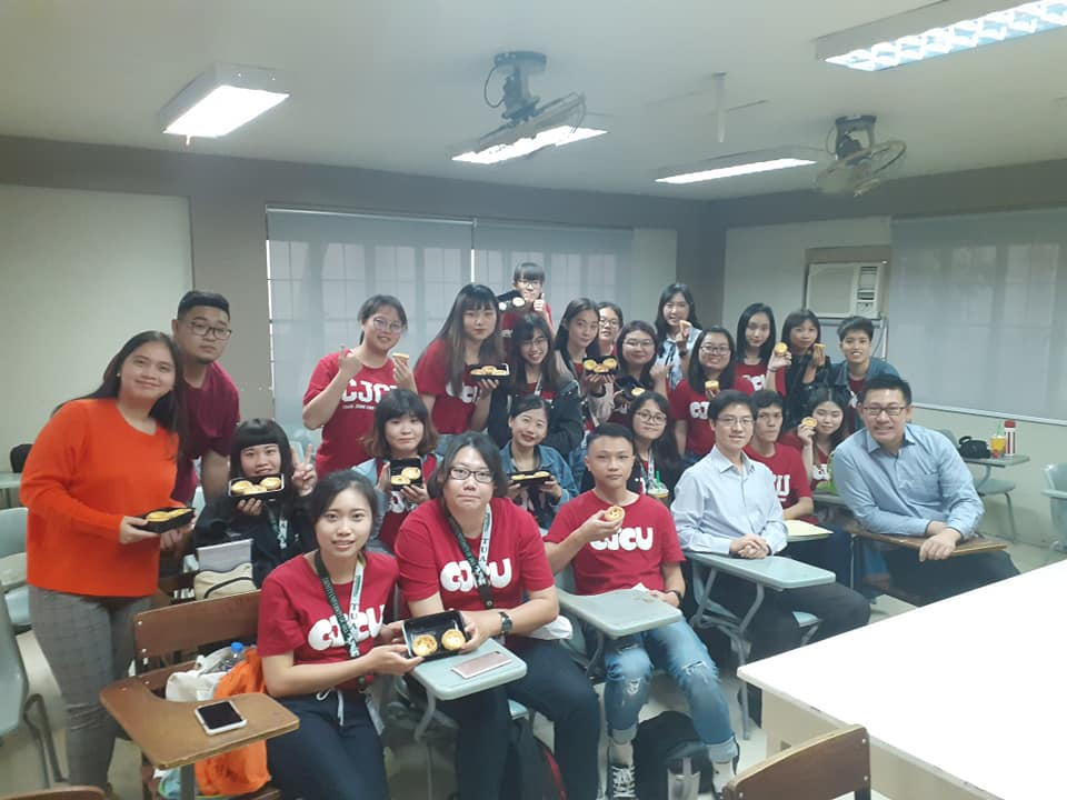Taiwan CJCU students have immersion courses in the philippines