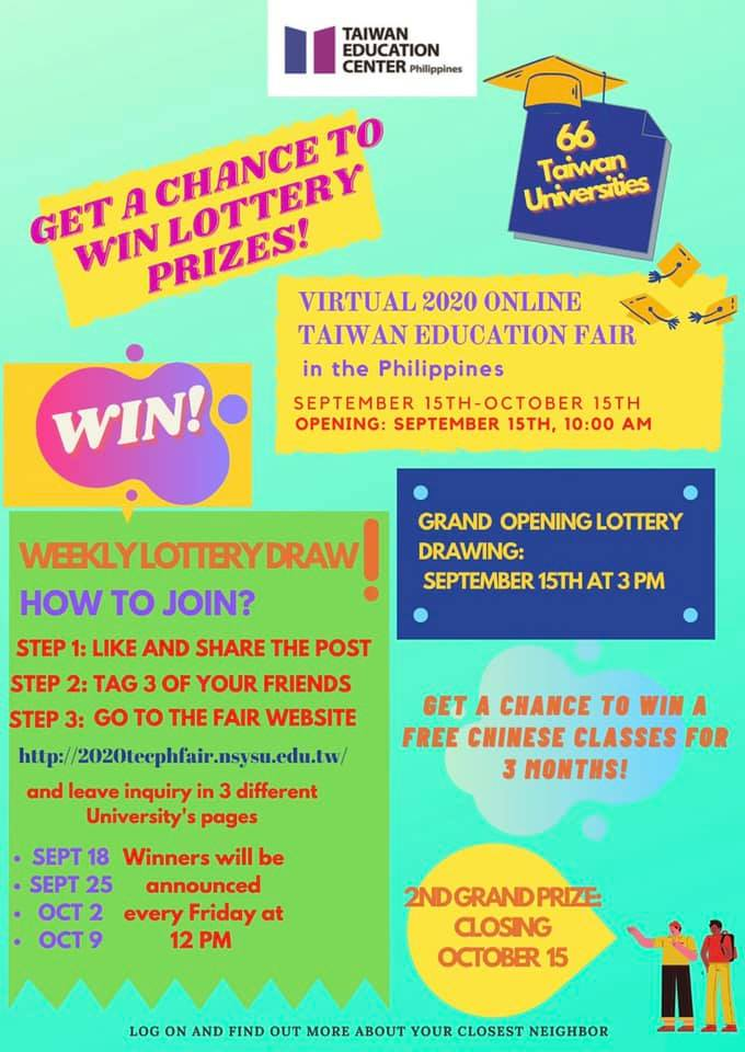 Congratulations to our 1st batch of Winners for September 15 Grand Opening Lottery Drawing!