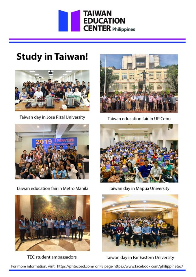 WELCOME TO STUDY IN TAIWAN