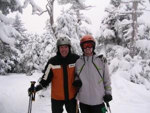 Dan and Doug at Mad River Glen