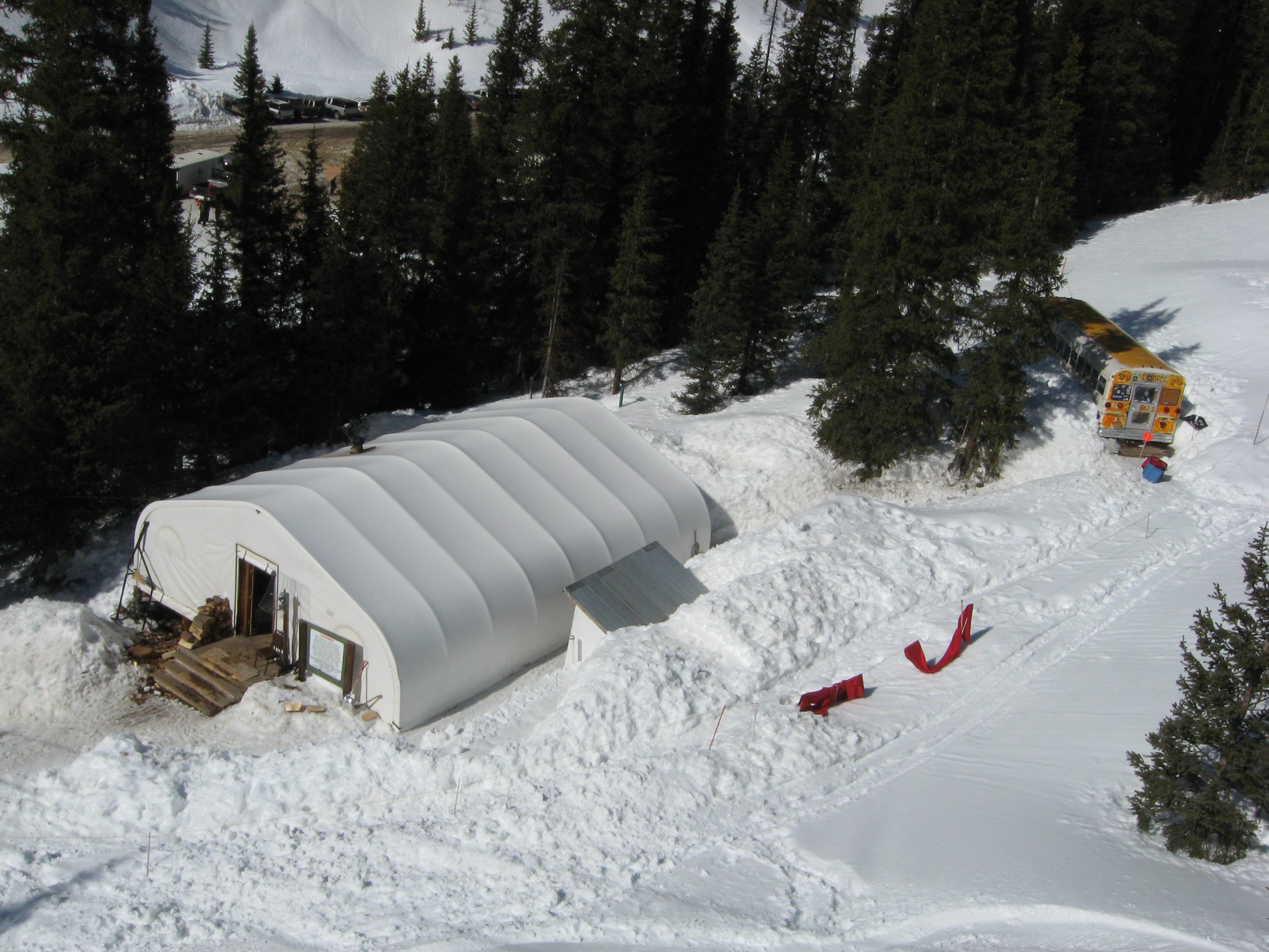 Silverton Mountain base lodge