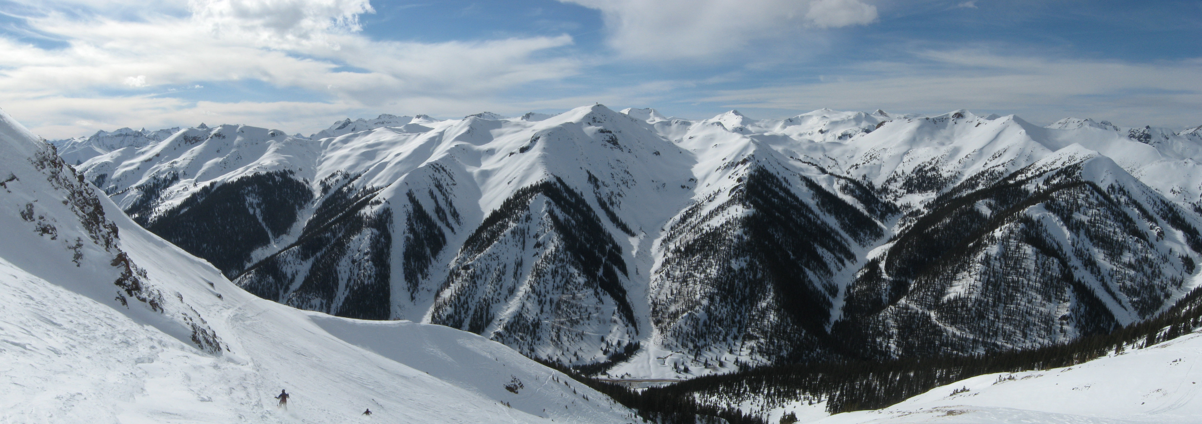View from Tiger Claw, Silverton, CO